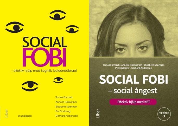 Självhjälpsbok om social fobi social ångest